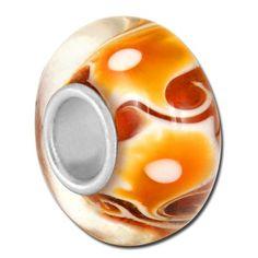 Bauble Lulu Beads Amber Jazz Bead
