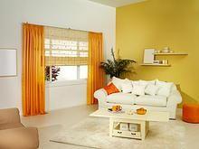 93 Unique Home Accessories Yellow Room Decor Living Room Colors, Living Room Designs, Living Room Decor, Living Area, Colorful Curtains, Colorful Decor, Bright Curtains, Modern Curtains, Interior Design Minimalist