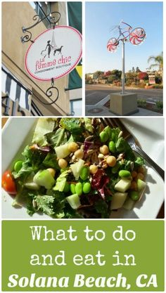 Here's the first in my new 'Dine & Do' series, beginning with what to do and where to eat in Solana Beach, CA