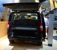 Mercedes shows the Viano Fun camper