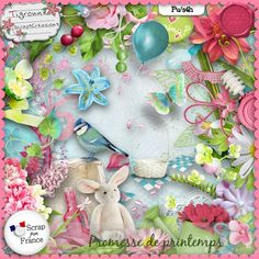 Promesse de Printemps by Tigroune ScrapsCreations http://scrapfromfrance.fr/shop/index.php?main_page=index&cPath=88_305