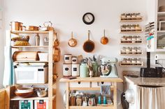 8 Cluttered Kitchens We Totally Love