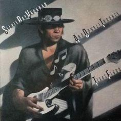Stevie Ray Vaughan - Texas Flood LP Record Album On Vinyl