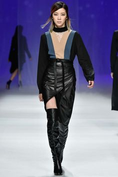 Lie Sangbong Seoul Fall 2015 Fashion Show