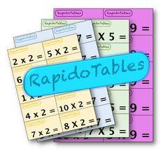 RapidoTables - Jeu sur les tables de multiplication