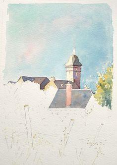 Optimisation-aquarelle-saint-bomer-detail-toiture-15