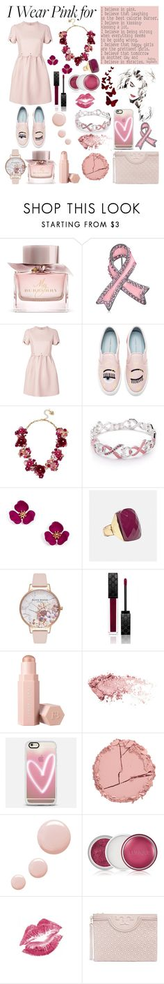 """""""For all the strong women out there"""" by j-k-mirsa ❤ liked on Polyvore featuring Burberry, Bling Jewelry, Valentino, Chiara Ferragni, Betsey Johnson, Napier, Avenue, Olivia Burton, Gucci and Puma"""