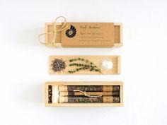Organic & All Natural Thyme Lavender Herbal Bath Salt Test Tubes