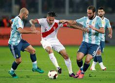 Trực tiếp Argentina vs Peru vòng loại World Cup 2018