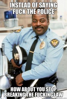 Good advice from the world's greatest cop to the Ferguson looters