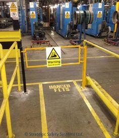 forklift truck safety – guard rail best practice