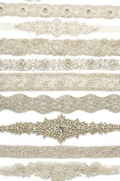 Bridal Sashes Galore  - www.UntamedPetals.com