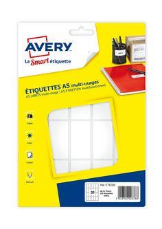 Avery - 2304 - Étiquettes Blanches: Amazon.fr: Fournitures de bureau