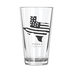 American Road Trip: Texas Pint Glass