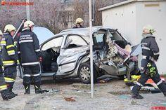 PKW gegen Zug in Pölfing-Brunn #zug #train #car #auto #crash #firemen