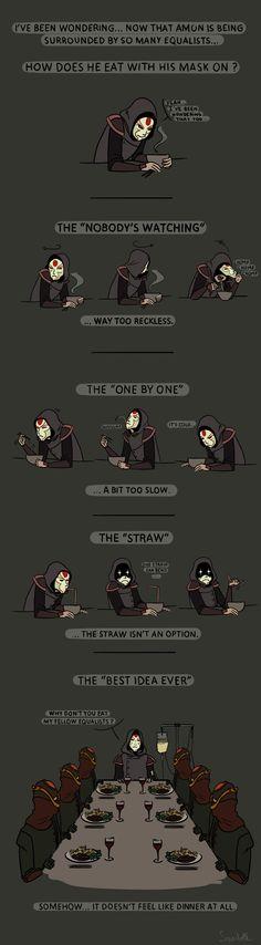 """TLOK - Amon: legend of korra [ Lol """"The straw bends"""" ]"""