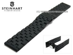 c10acf538fa1a Watch strap STEINHART stainless steelModel No.: STEINHART quality watch  strapSuitable for: Steinhart Nav Chrono black DLC and other watches with  standard ...
