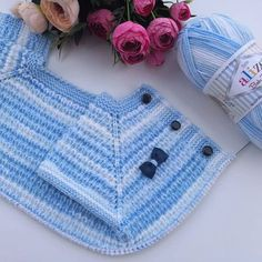 Let your evening # fate # be friends. # # Knitting # continue # # # string # # alizebabybestbatik # skewers # # 75 # I started to sew # … – kinder mode Crochet For Kids, Sewing For Kids, Crochet Baby, Knit Crochet, Baby Knitting Patterns, Hand Knitting, Baby Pullover, Baby Cardigan, Knitted Baby Clothes