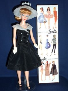 REPRO BARBIE IN VINTAGE AFTER FIVE OUTFIT