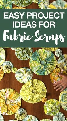 Do you have a bin at home full of scrap pieces of fabric? If so, Ellen March introduces you to several creative projects that require you to use up your fabric scraps. Spark some inspiration to make something beautiful out of your sewing fabric scraps. Try one of these fun and unique projects today while utilizing these helpful tips and techniques…