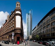 Bishopsgate Goods Yard Tower. Terry Farrell. #unbuiltlondon