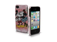 Rigid PVC case for Iphone 4/4S, subject Mickey and Minnie in love  http://www.sbsmobile.com/iphone/fashion_disney/1974_disney-case-for-iphone-44s.html