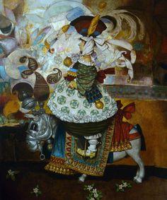 Girl Oil on Canvas 120x115cm