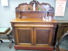 Chiffonier to be sold Monday 17th March at 5pm