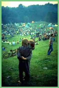 "Love, Peace, and Happiness""-Woodstock-1969"