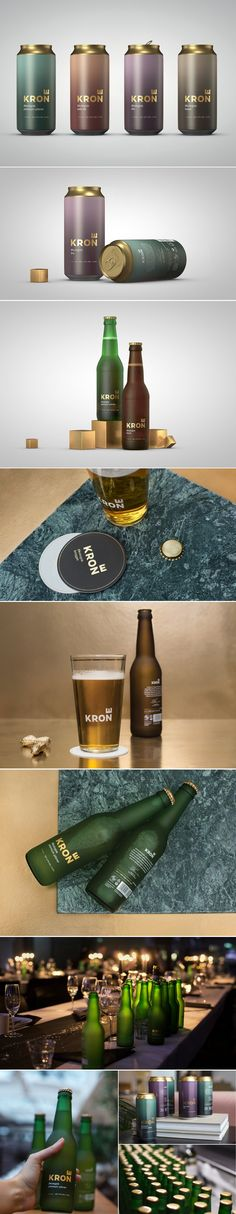 Krone Is Asserting Its Throne With This Exquisite Packaging — The Dieline | Packaging & Branding Design & Innovation News