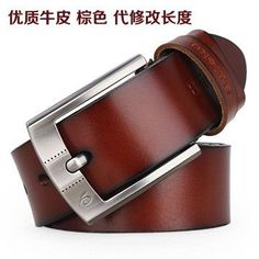 BAIEKU 100% cowhide genuine leather belts for men brand Strap male pin buckle fancy vintage jeans cintos freeshipping