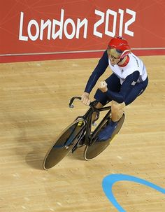 Track Cycling: Day 6 - Chris Hoy - Men's Team Sprint final