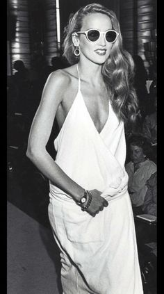 Spring & Summer Collection 1979. {#JerryHall}