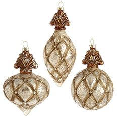 "RAZ Imports - 6.5"" Antiqued Ornaments - Set of 3 RAZ Imports http://www.amazon.com/dp/B00MN53TDA/ref=cm_sw_r_pi_dp_m-9uwb0DD2RAF"