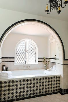 Spanish Colonial Revival Residence in Holmby Hills — Tim Barber Ltd. - Spanish Colonial Revival Residence in Holmby Hills — Tim Barber Ltd. Spanish Style Bathrooms, Spanish Bathroom, Spanish Home Decor, Spanish Style Homes, Mediterranean Home Decor, Spanish Colonial Decor, Spanish Revival Home, Spanish House Design, Mediterranean Bathroom