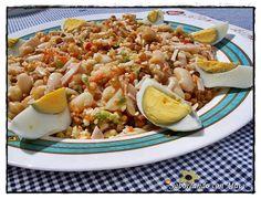 Degusta+ Exquisitos Platos y Tapas: Ensalada de legumbres