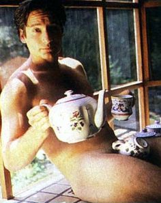 tea time with david duchovny