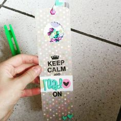 """segnalibro, bookmark shaker, utilizzando dei cuoricini de """"La coppia creativa"""" e la fuse  ;)"""