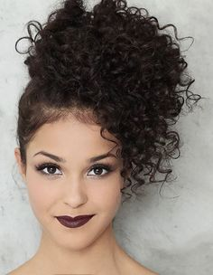 New Ideas Long Straight Hair Dos Curled Hair With Braid, Braids With Curls, Front Hair Styles, Curly Hair Styles, Natural Hair Styles, Elegant Hairstyles, Braided Hairstyles, Wedding Hairstyles, Hairdos For Short Hair