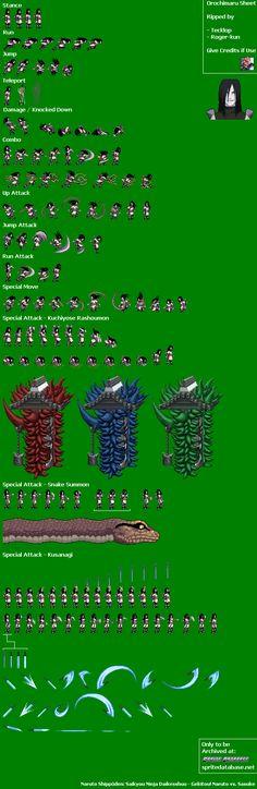 Sprite Database : Orochimaru