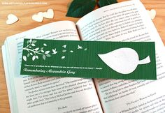 Inspired by the simplicity of #natural elements found in the great outdoors, the Nature's Leaf #Memorial Bookmarks will honor the life of your loved one in a heartfelt way.