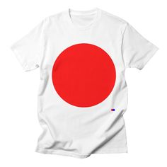 T-Shirt, simple, circle, red, dotdot, classic, 90s, Available at https://dotdot.threadless.com