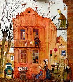 Otar Imerlishvili a georgian artist - love his work!