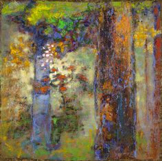 Rick Stevens Art - The Soft Touch of Morning Light oil on canvas Abstract Canvas, Oil Painting On Canvas, Painting Frames, Your Paintings, Landscape Paintings, Landscapes, Tree Paintings, Abstract Paintings, Abstract Landscape