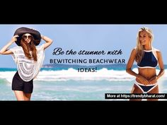 Fashionable Beach Outfit Ideas!! Fun in the sun!  As summer is here, it's the best time to cuddle into fashionable beach dresses and outfits and go vacationing on the sun-kissed beaches!