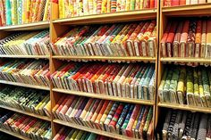 Fabric Stores in Texas- also known as heaven :) Fabric Display, Fabric Storage, Creating Positive Energy, Budget Template, Super Healthy Recipes, Store Displays, Fabric Shop, Sewing Projects, Quilts