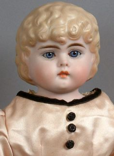 "Extremely Rare 18.5"" Bahr & Proschild 326 Tinted Bisque Child With from kathylibratysantiques on Ruby Lane"