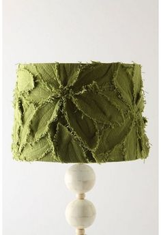 textured shade...Anthropologie