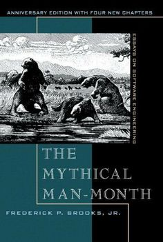 The Mythical Man-Month: Essays on Software Engineering, Anniversary Edition (2nd Edition) by Frederick P. Brooks Jr., http://www.amazon.com/dp/0201835959/ref=cm_sw_r_pi_dp_K2fJtb1N9EX6P