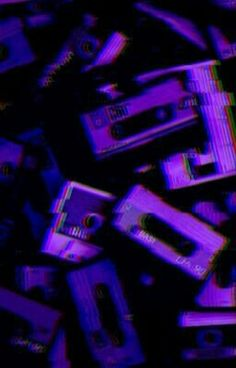 Vaporwave Wallpaper Phone Ideas - Best of Wallpapers for Andriod and ios Violet Aesthetic, Dark Purple Aesthetic, Lavender Aesthetic, Aesthetic Colors, Aesthetic Collage, Music Aesthetic, Aesthetic Vintage, Purple Aesthetic Background, Aesthetic Painting